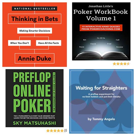 Conoce los 10 mejores libros de Poker que te ayudaran a ser un profesional en este Deporte
