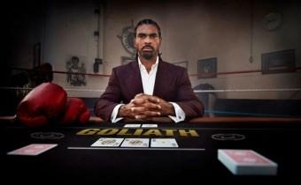 boxeador David Haye juega Poker