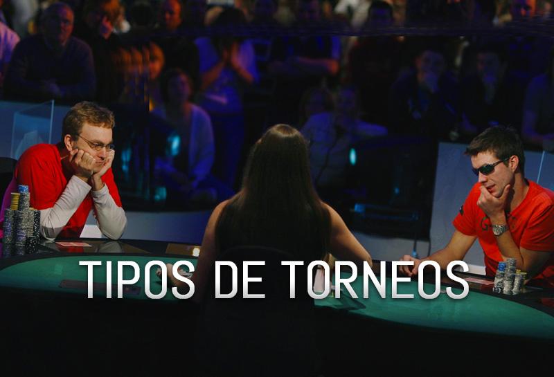 Tipos de torneos de póker