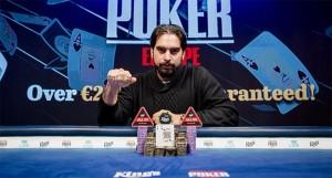 Alexandros Kolonias se convierte en el ganador del WSOP Europa 2019