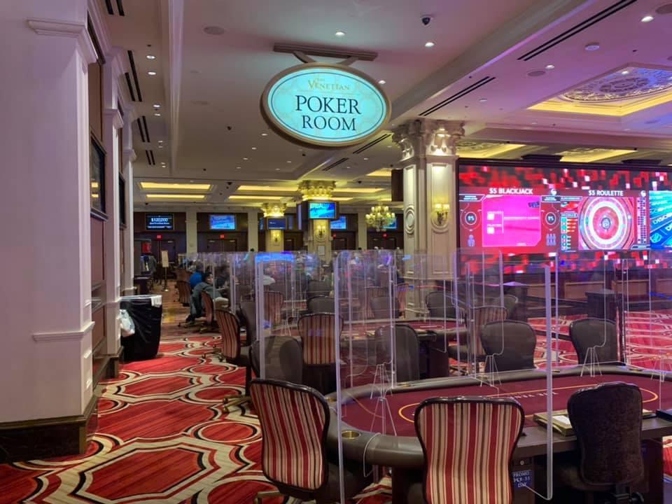 Las Vegas tiene el numero mas bajo de salas de poker desde el 2002